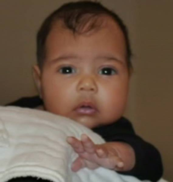 + First Photo of North West revealed