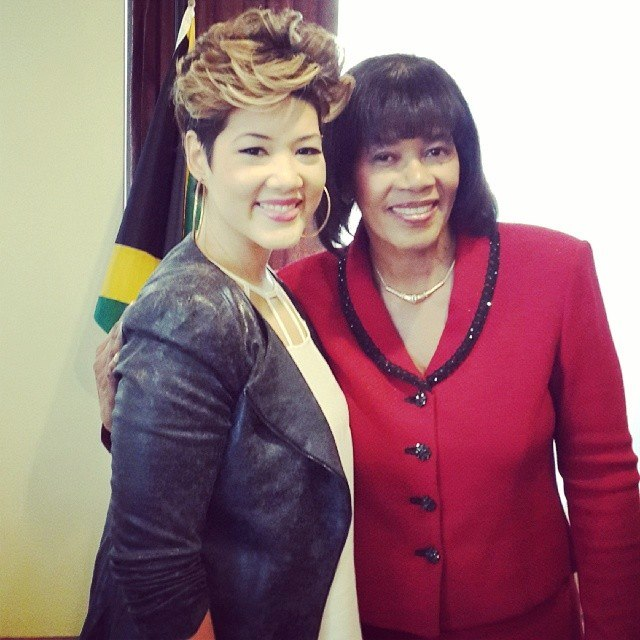 + Tessanne Chin #TheVoice in Jamaica