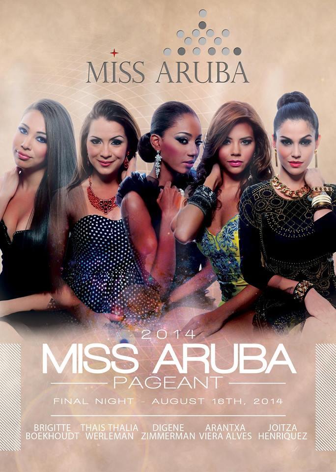 Miss Aruba 2014 - Delegates 00