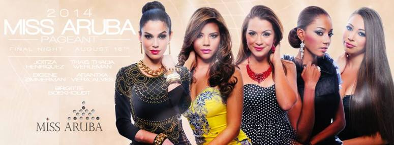 Miss Aruba 2014 - Delegates 01