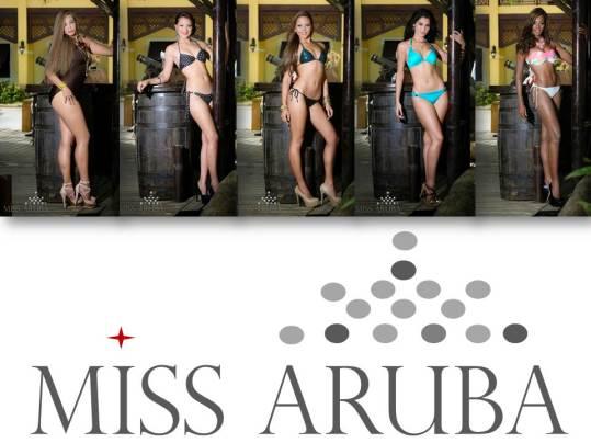 Miss Aruba 2014 - Delegates