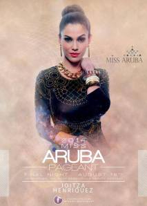 Miss Aruba 2014 - Joitza 01