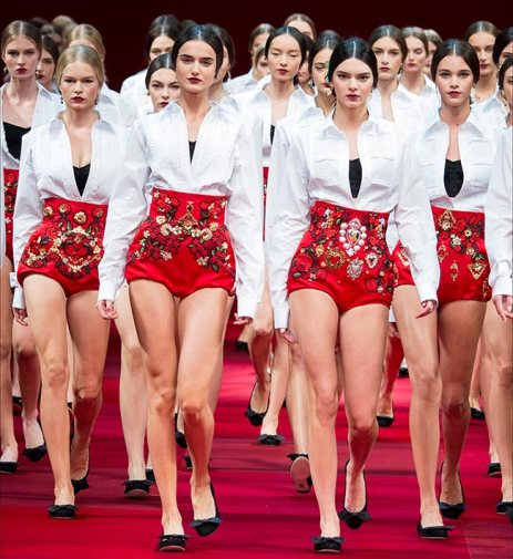 Dolce Gabbana - 2015 Collection MFW 001
