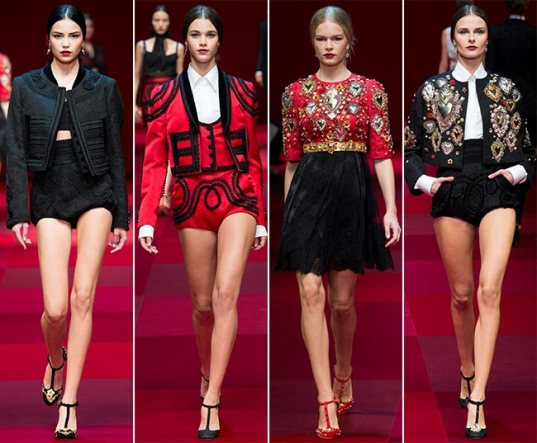 Dolce Gabbana - 2015 Collection MFW 0011