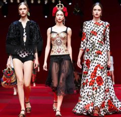 Dolce Gabbana - 2015 Collection MFW 0012