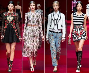 Dolce Gabbana - 2015 Collection MFW 005