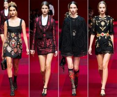 Dolce Gabbana - 2015 Collection MFW 006