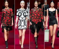 Dolce Gabbana - 2015 Collection MFW 007