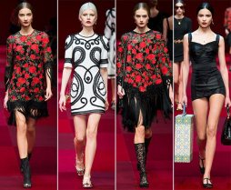Dolce Gabbana - 2015 Collection MFW 007