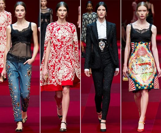 Dolce Gabbana - 2015 Collection MFW 008