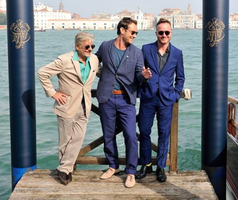 Jude Law - Venice Film Festival 2014