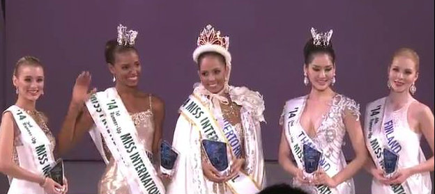 Miss International 2014 - Winners