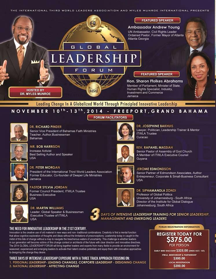 Myles Munroe - Global Leadership Forum
