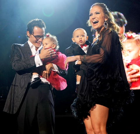 Marc Anthony - Jennifer Lopez Kids