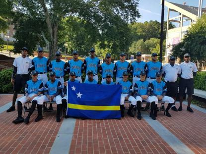 CURACAO SLBWS Senior League Baseball World Series Champions 06