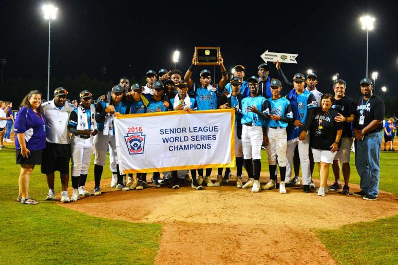CURACAO SLBWS Senior League Baseball World Series Champions
