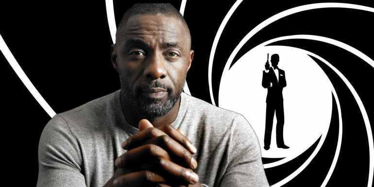 Idris Elba - Bond Logo