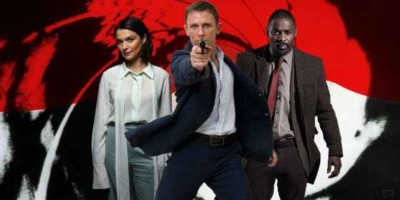 James Bond - Daniel Craig - Idris Elba